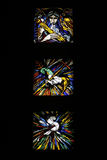 Religious stained glass Stock Images
