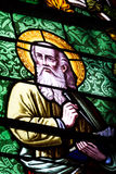 Religious stained glass windows Stock Photography