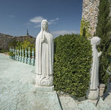 Religious statue. Full size view Stock Images