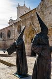 Religious Statue In Palencia, Spain Stock Photography
