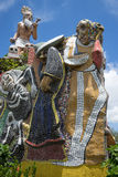 Religious statue in Masaya. Religious statue made of tile pieces in the center of Masaya Nicaragua Royalty Free Stock Photography