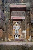 Religious statue in Prasat Muang Sing located at Kanchanaburi, T Royalty Free Stock Photography