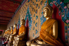 Religious statues in temple Stock Photo