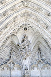 Religious stonework Royalty Free Stock Photo