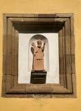 Religious street statue Stock Photography