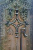 Religious Symbols de obispo Foto de archivo libre de regalías