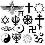 Religious symbols Royalty Free Stock Image