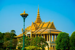 Religious temple.Royal palace. Stock Images
