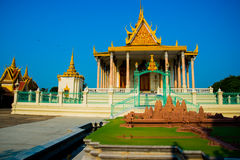 Religious temple.Royal palace Royalty Free Stock Image