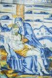 Religious tiles Basilica del Prado of Talavera de la Reina, Tole Royalty Free Stock Images