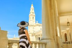 Religious tourism in Portugal Stock Photography