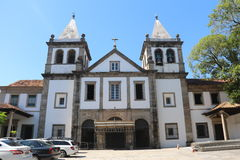 Religious Tourism in Rio de Janeiro Downtown. Rio de Janeiro, Brazil, December 19, 2016: Benedictine monastery of St. Benedict, founded in 1590 is one of the royalty free stock photo