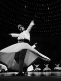RELIGIOUS WHIRLIGIG DANCING. Vuslat ceremonies. Whirling dervish in religious dancing at konya. Each year, between December 01-17 and are being conducted between Stock Photo