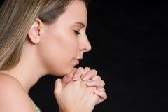 Religious Woman Royalty Free Stock Photo