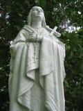 ReligiousChristian Statue. Religious Statue at Monastary royalty free stock photo