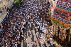 RELIGOUS CEREMONY AT SRIRANGAM Stock Photos