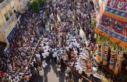 RELIGOUS CEREMONY AT SRIRANGAM Stock Photo