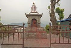 Religous Shrine in a Mountain Village. Religious Shrine in Pokhara, Nepal Stock Photography