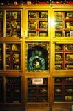 Religous Statue in Drepung Monastery Royalty Free Stock Photo