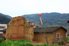 Reliken av Fujian de jord- strukturerna Royaltyfri Foto