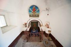 Relikerna av St George i Pomorie i Bulgarien Royaltyfria Foton