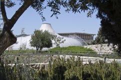 Relikskrin av boken och knesseten, Jerusalem, Israel royaltyfri foto
