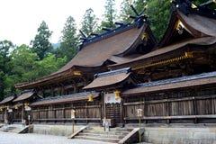 Relikskrin av Hongu Taisha, på Kumano Kodo, Kansai, Japan Royaltyfria Foton