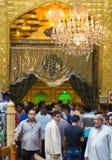 Relikskrin av imamen Abbas Royaltyfria Foton