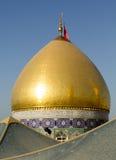 Relikskrin av imamen Abbas Arkivbild
