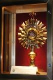 Relikskrin av John Paul II royaltyfri bild