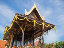 Relikskrin av konungen Naresuan Arkivfoto