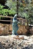 Relikskrin av Saint Joseph av bergen, Yarnell, Arizona, Förenta staterna Arkivbild