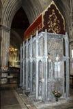 Relikskrin av St Alban St Albans England, UK arkivfoto