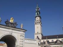relikskrin för jasna för czestochowaportgora till Royaltyfri Foto
