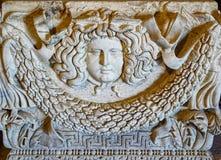 Relikwia Hierapolis Theatre, indyk Obraz Royalty Free