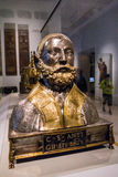 Reliquary bust, about 1500 Stock Image