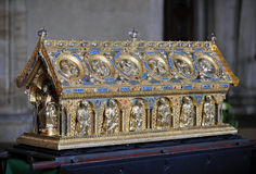 Reliquary of St. Maurus Royalty Free Stock Photos