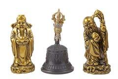 Relique tibétaine de chant Bell Photographie stock libre de droits