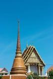 Reliques de Bouddha de lieux de culte Images stock