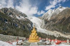 Reliques de glaciers Photographie stock libre de droits