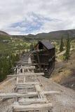 Reliquia de la explotación minera Fotos de archivo libres de regalías