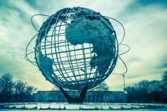 Reliquia de la feria de mundos de Unisphere imagen de archivo