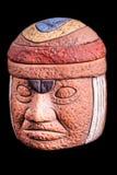 Reliquia de la terracota de Olmec Imagen de archivo libre de regalías