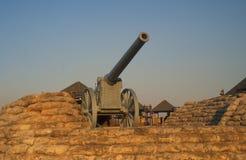 Reliquia di guerra di Boer Fotografia Stock