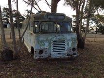 Reliquia rústica del autobús Foto de archivo libre de regalías