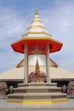 Reliquias de la estatua de Buda y de Buda Foto de archivo