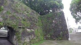 Reliquie e resti murati intra muros del XVI secolo della città archivi video