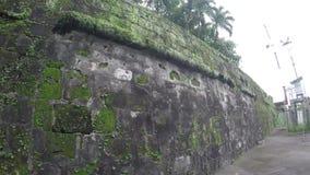 Reliquie e resti murati intra muros del XVI secolo della città video d archivio