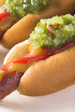 Relish Hot Dog Royalty Free Stock Images