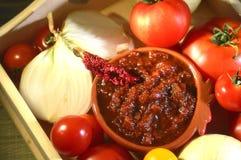 Relish tomato. Stock Photography
